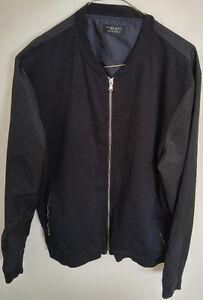 Zara jacket size L black