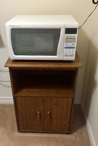 Microwave Sharp Carousel With Stand