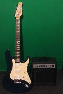 Jay Turser Electric Guitar & Amp Package