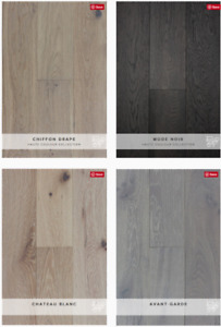 PRAVADA WHITE OAK ENGINEERED FLOORS - HAUTE COULEUR COLLECTION
