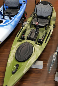 AWESOME NEW LEISURE ANGLER KAYAK! WITH FREE PADDLE AND DELIVERY!