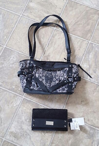 Metal mulisha purse and new wallet