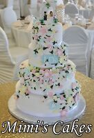 Mimi's Wedding cakes-Openings available August-October 2017
