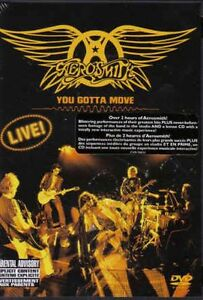 AEROSMITH**YOU GOTTA MOVE**DVD + BONUS CD