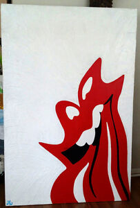 Rolling Stone Pop Painting