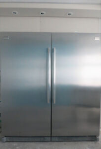 PROFESSIONAL Side by Side Built-in Option S/S Fridge | Freezer