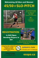 45+/50+ Slo Pitch League