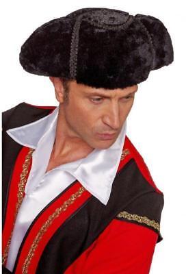 tierkämpfer Matador Kostüm Herren Spanier Torerohut schwarz (Herren Matador-kostüm)