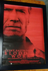 BLOODWORK CLINT EASTWOOD   STUDIO POSTER