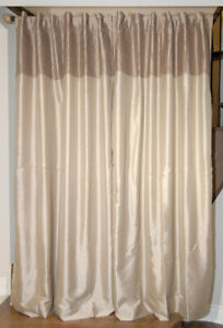 Lined Curtain Drapes