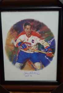 Rare Canada Post NHL signed by Hockey Hall of fame player