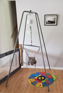 Jolly Jumper and mat - like new condition