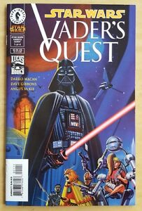 Star Wars Vader's Quest (1999) comic books