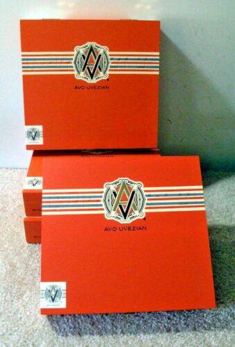 "Buy One<>Get Three Free<>""AVO XO Preludio "" Wood Cigar Boxes<> 4 Same Size Boxes"