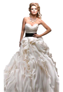 Robe de marie style Vera Wang