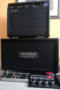 Mint Mesa Boogie Mark V Combo and Mint Extension Mesa 2x12 Cab London Ontario image 2