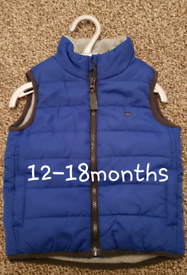 Boys jackets, snowsuit & bodywarmer