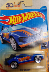 **FREE POST/PICKUP! NEW RARE Rise N Clim 50th Hot Wheels Castle Hill The Hills District Preview