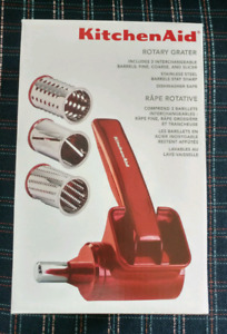 FOR SALE - KitchenAid rotary grater