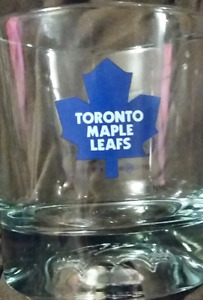 Crown Royal Toronto Maple Leafs hockey Glass