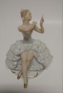 Antique German Porcelain Ballerina Wallendorf Excellent