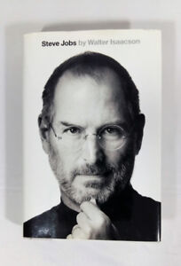 Steve Jobs Hardcover by Walter Isaacson New York Times bestsell