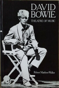 David Bowie Theatre Of Music Book Second Edition 1986 Rare