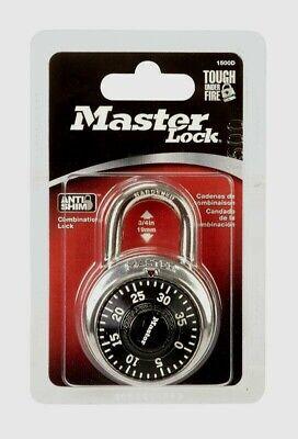 Master Lock 2 X 1-78 Steel Combination Dial Padlock 1 Pk 34 Shackle 1500d