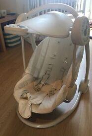 Mamas and papas starlight baby swing chair