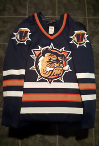 Official Licensed Hamilton Bulldogs Jersey Shoulder & AHL Patch