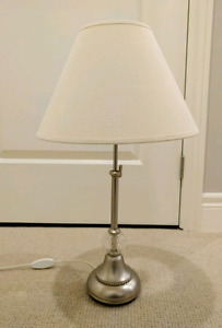 Decorative Metal And Glass Table Lamp
