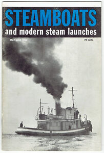 "Nine 1961/62/63 ""Steamboats and Modern Steam Launches"" Magazines Kingston Kingston Area image 5"