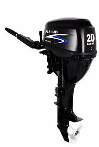 New 20 hp Electric Start outboard motor