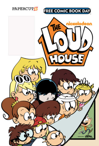 Wanted: Looking for Loud House comic, Free Comic Book Day