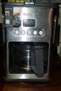 Krups line coffee maker for sale.