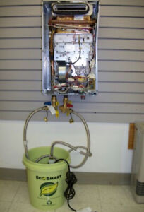 Tankless water heater Flush, Furnace Tunye-up Special