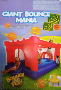 Jeux gonflable GIANT BOUNCE MANIA