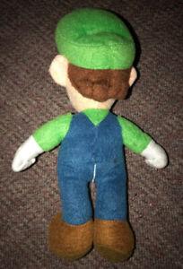 Luigi Super Mario Bros 10 Inch Plush Figure Stuffed Animal Toy