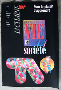 Affiches TFO '90 / posters