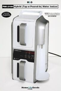 HYBRID Alkaline Water Ionizer PWI-2100 4-Plate! Pour Water In!