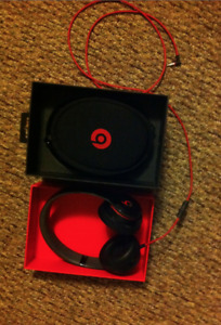 Beats Solo Headphones Black