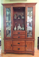 Classical Display Cabinet (900$) and 6 seat Dining Table (600$)