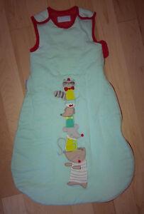 Like NEW Grobag Baby Sleep Bag 2.5 Tog Rascal Raccoon, 0-6m