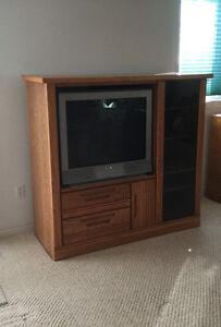 Entertainment Unit w/ TV
