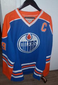 XXL Oilers Gretzky jersey new!!!