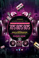 Boxing Day Retro Party - 70's, 80's & 90's -