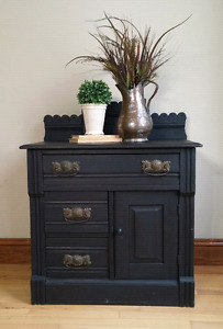 Beautiful Black Cupboard