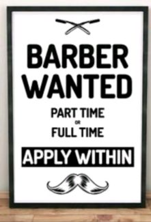 Barber or hairdresser wanted ($30_$35per hours) Hampton Bayside Area Preview