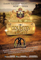 Country Night Every Tuesday - East Gwillimbury - FREE Line Dance