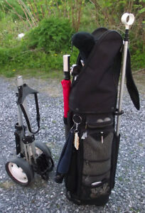 New Price-Right 12 Pce Wilson Tour Set With Bag and Cart
